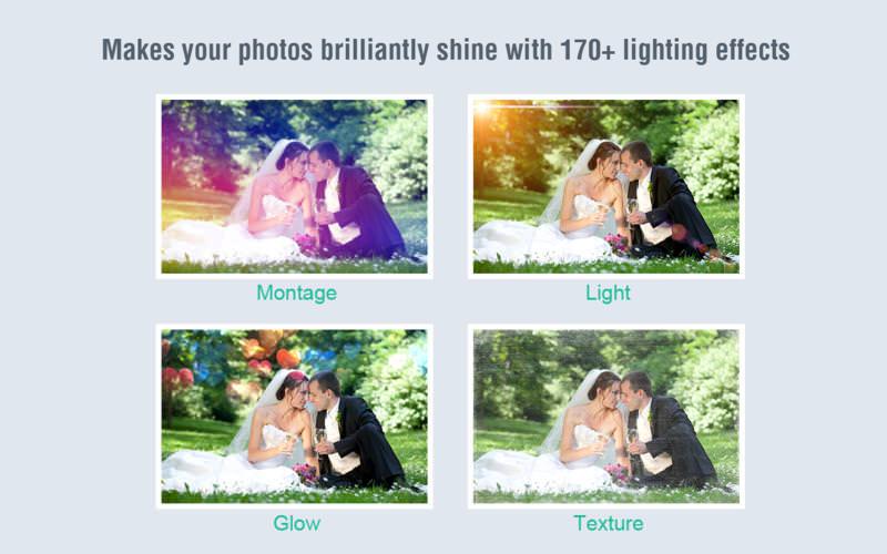 【1月23日まで無料】写真に170を超える照明効果やエフェクトを付加出来るMacアプリ『PicLight』