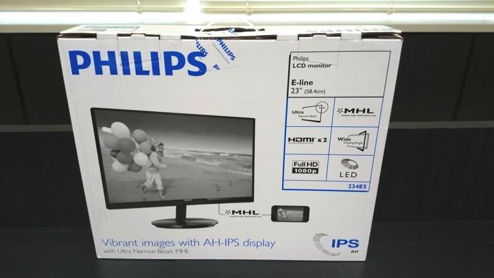 Philips液晶ディスプレイ箱
