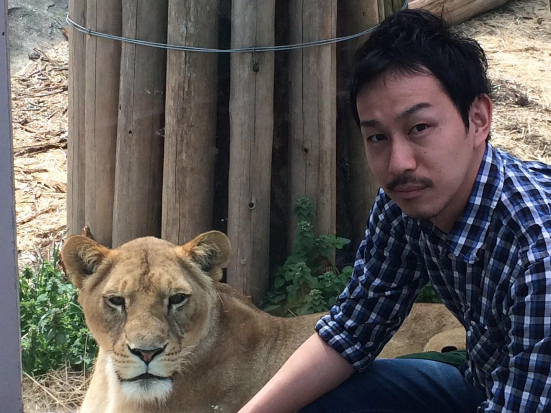 名古屋 東山動物園の動物と一緒に写真が撮れる ARカメラ