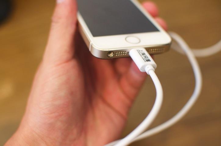 iPhoneに接続
