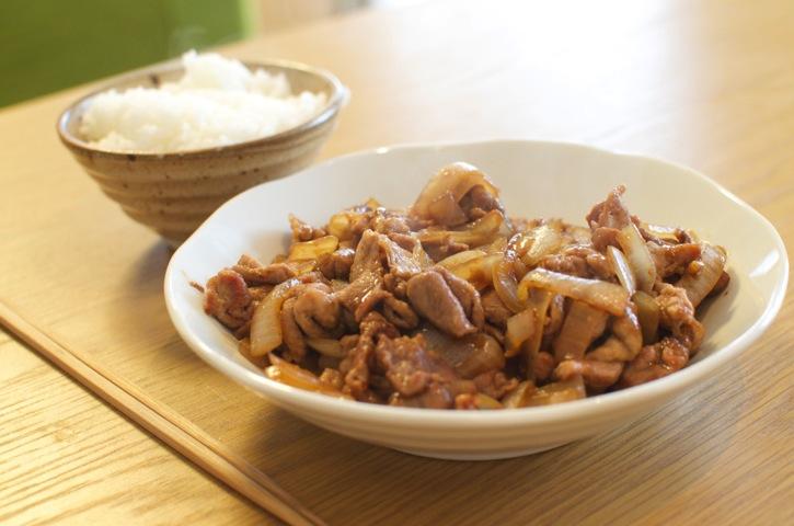 簡単美味しいタモリ流料理レシピ「豚の生姜焼き」
