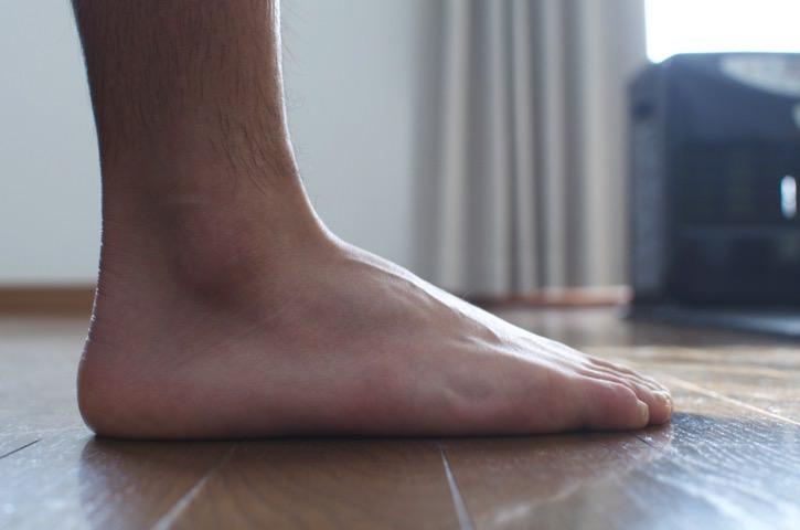 無印の足なり直角靴下が履きやすい