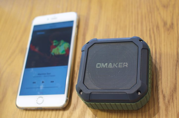 omakerの防水Bluetoothスピーカー300円引きキャンペーン