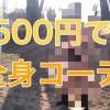 たった500円で全身コーデ!春のNo.1目指した結果…w