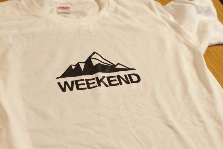 Tシャツの完成!