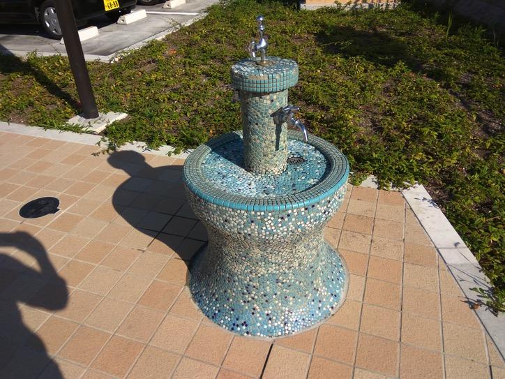 タイルの水栓