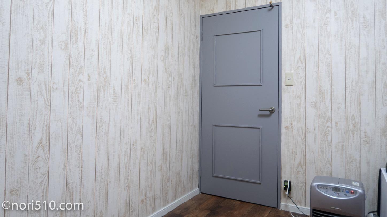 ドアのDIY