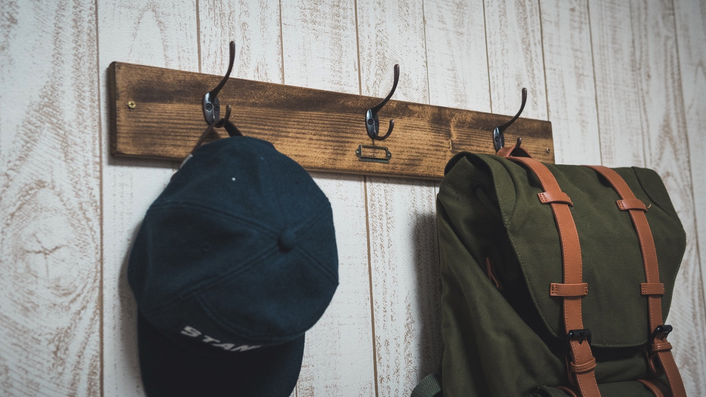 【DIY】1000円でアンティーク風壁掛けフックを自作