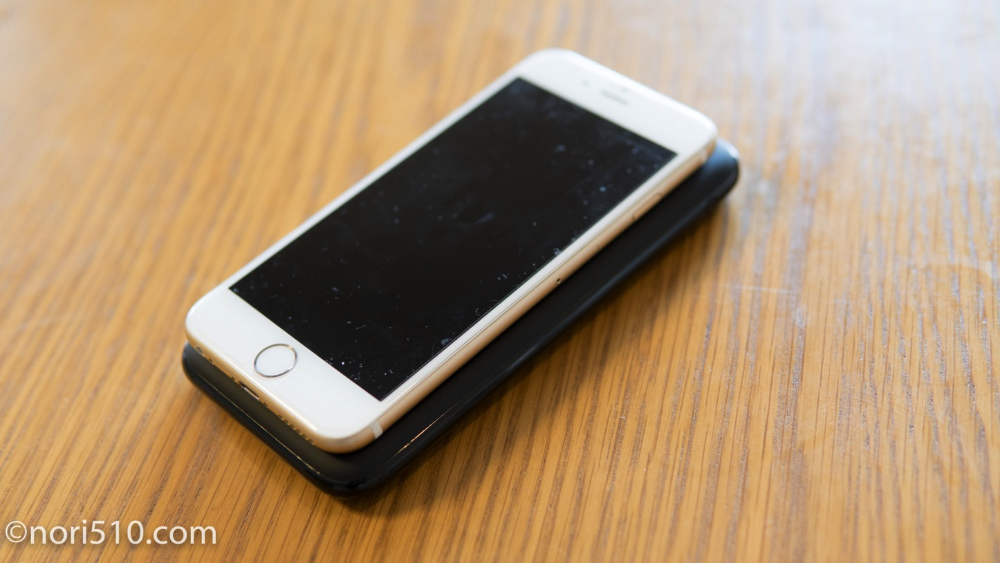 iphoneより一回り大きい