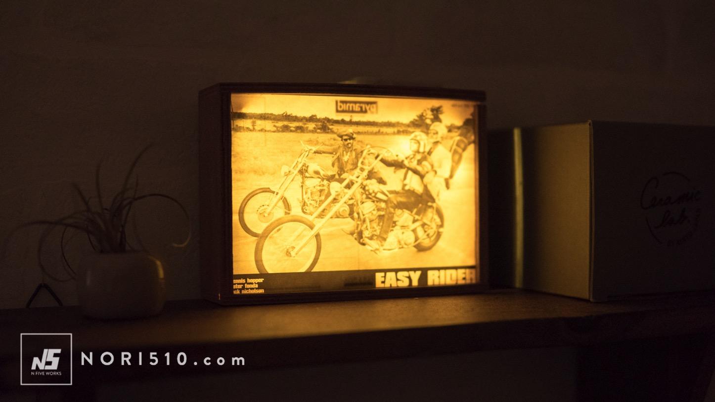 【100均DIY】ダイソー木箱とledで光るフォトフレームの作り方
