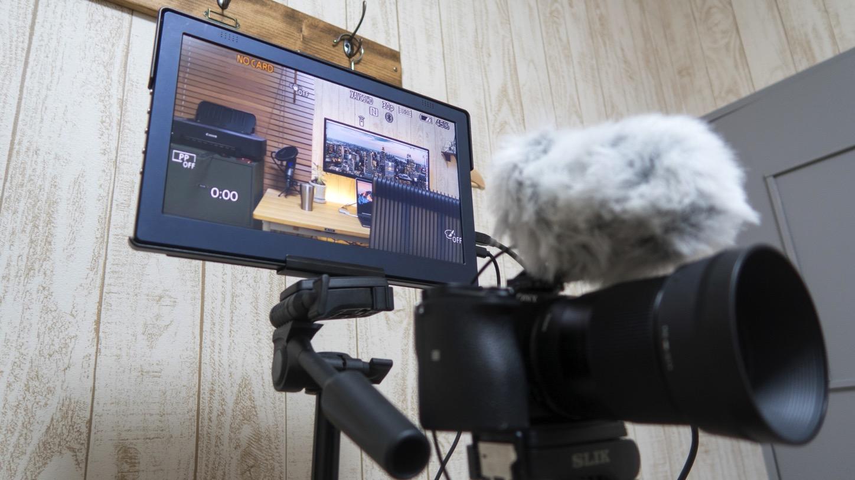カメラの大型外部モニター用に「On-Lap 1101p」購入レビュー