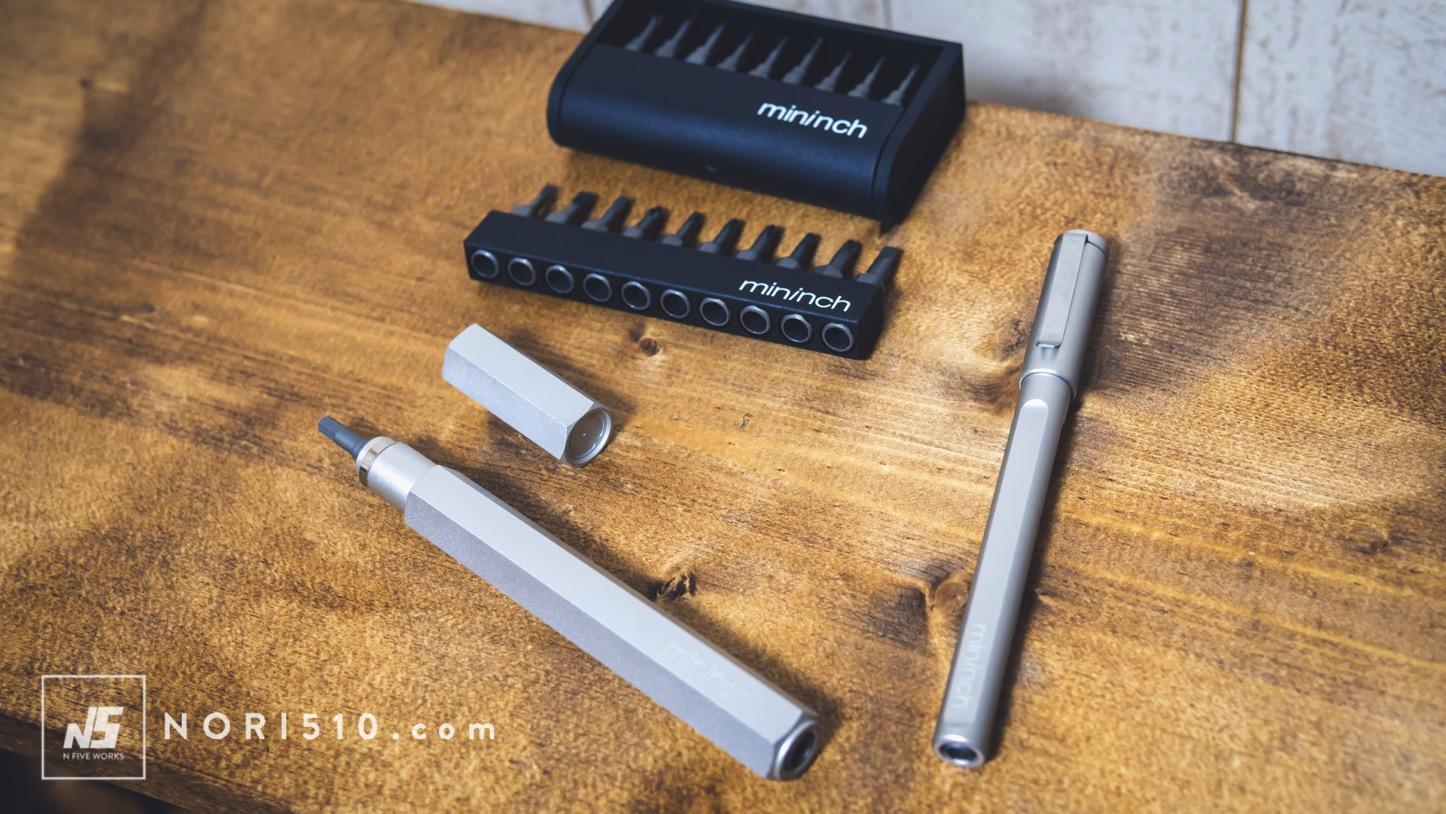 ペン型のマルチ工具 mininch ツールペン