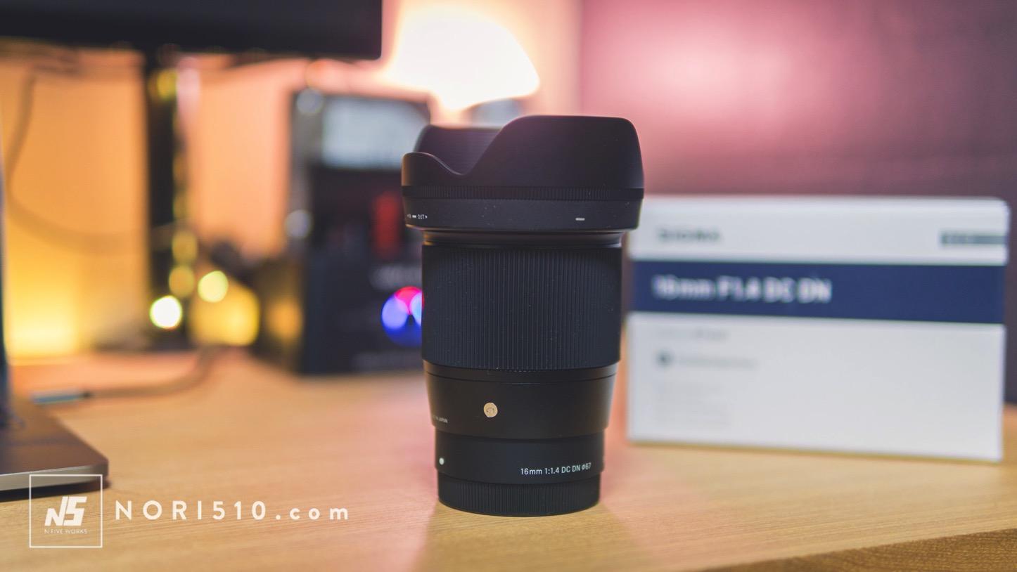 Sigma 16mm f1.4 DC DNで撮った動画と写真