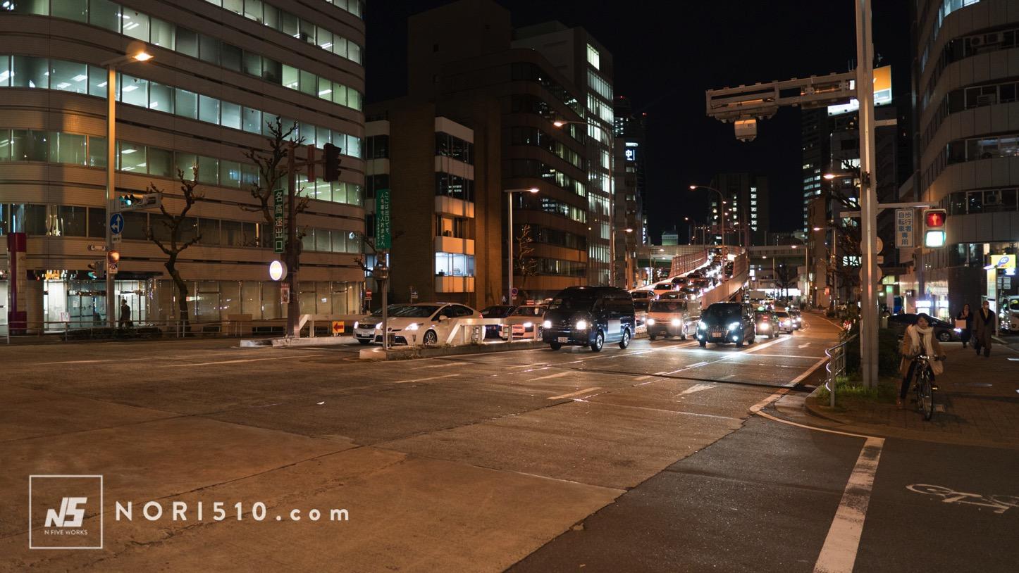 夜の名古屋