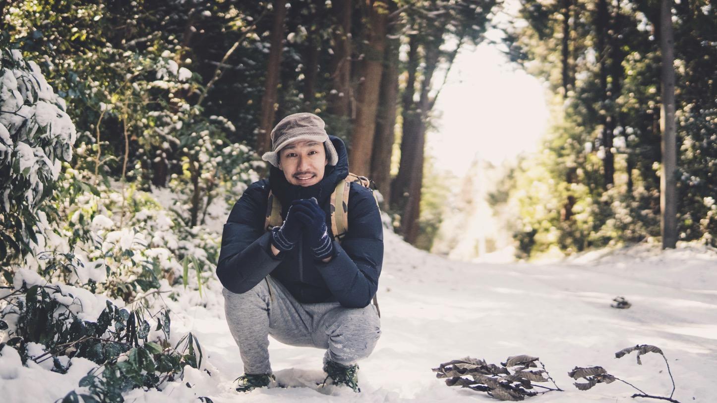 雪遊びの時の下着