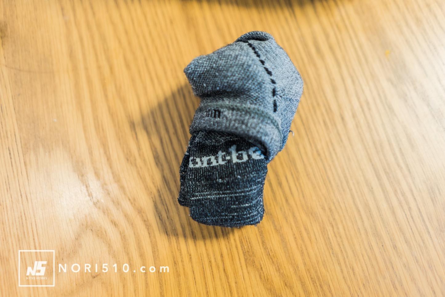 ウィックロン靴下