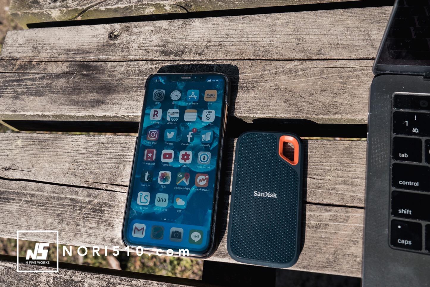 iPhoneXSと比較