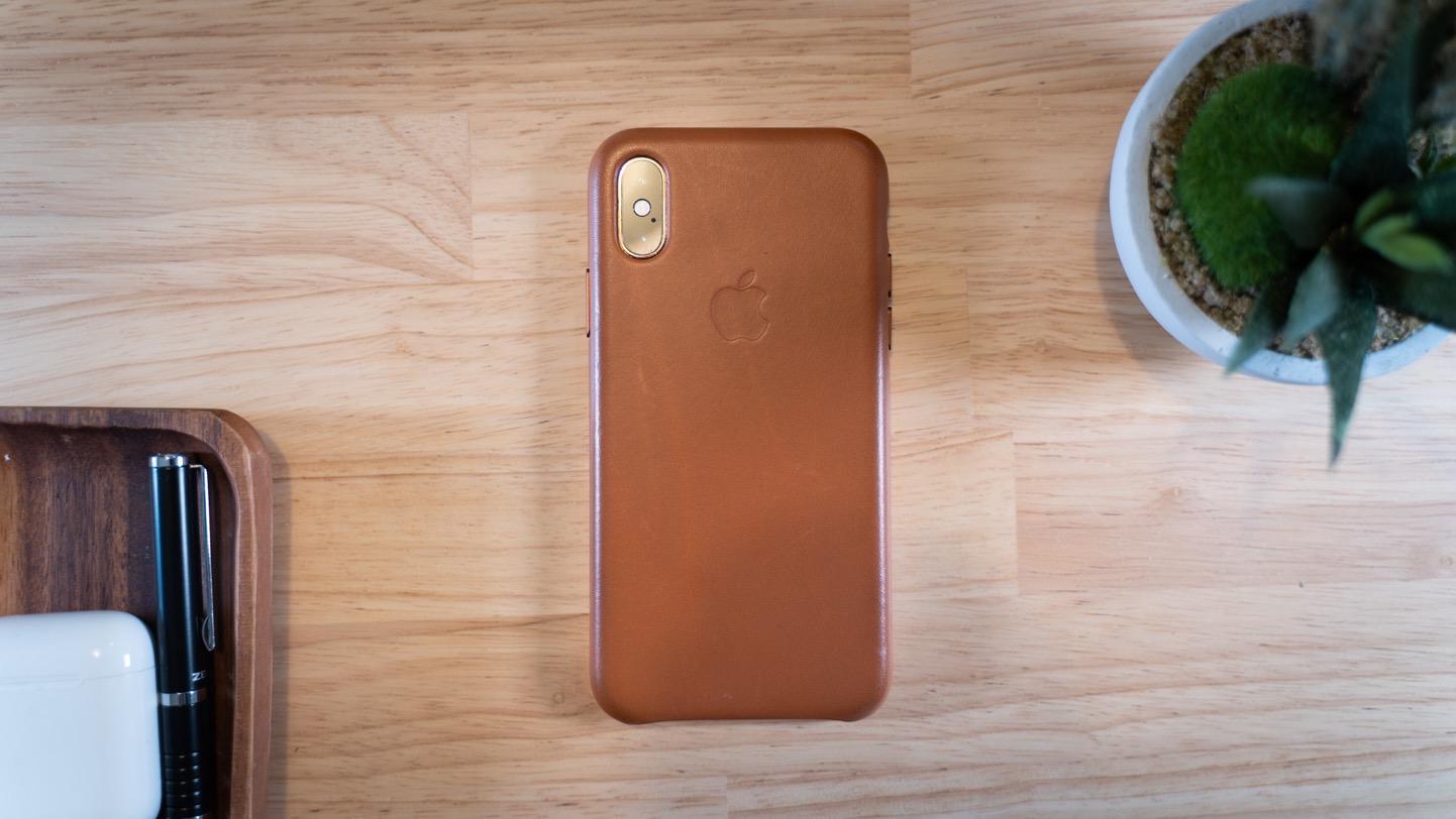 iPhoneレザーケース サドルブラウン