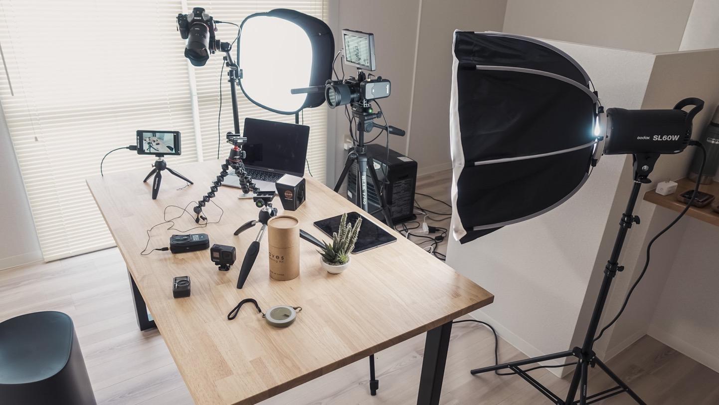 自宅撮影カメラ機材