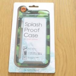 安くてシンプルなスマホやiPhoneの防滴ケース「PRECISION Splash Proof Case」