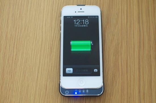 1660円で買える「iPhone5専用バッテリー内蔵ケース2200mAh」
