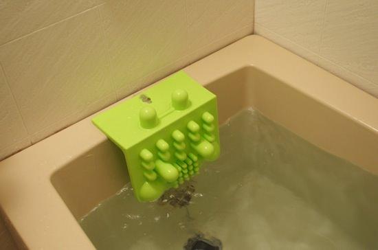 お風呂で気持よくマッサージするグッズ「バスキュート」