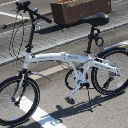 2万円切りで高品質の折りたたみ自転車 WACHSEN「Weiβ BA-101」抜群に気に入った