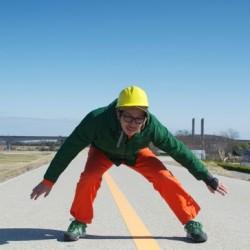 ギネス世界記録に挑戦 一分間に県を何往復出来るか?「県境反復横跳び」にチャレンジ