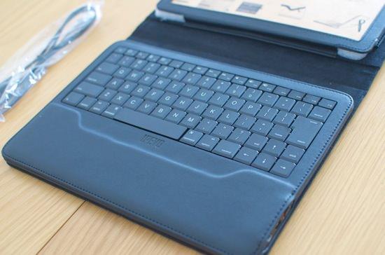 レビュー IPEVOのBluetoothキーボード一体型iPadケース「Typi」