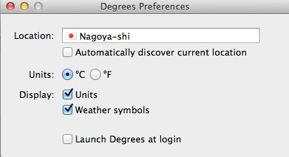 Degrees Preferences