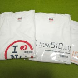 nori510.comオリジナルTシャツ当選者発表