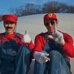 赤と緑マリオで仲良く喧嘩しな明かされるダブル兄貴の謎 リバースブラザーズの逆再生動画4