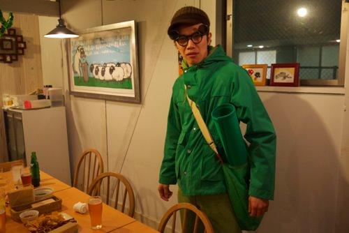 緑過ぎるbeat氏