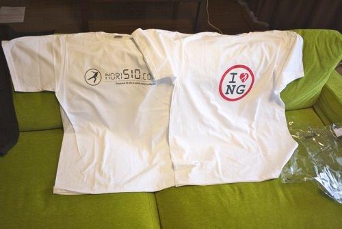 バースデープレゼント企画  nori510.comオリジナル自作ティーシャツを3名様にプレゼント #BDnori510