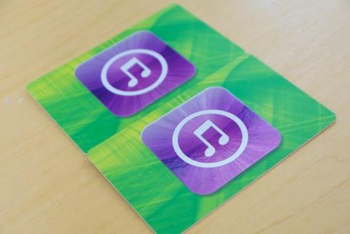 new iTunes Card