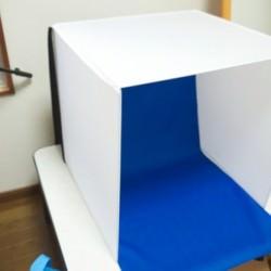 オークション出品商品やブログでのレビュー製品撮影に「Digio デジカメ簡易撮影スタジオ」