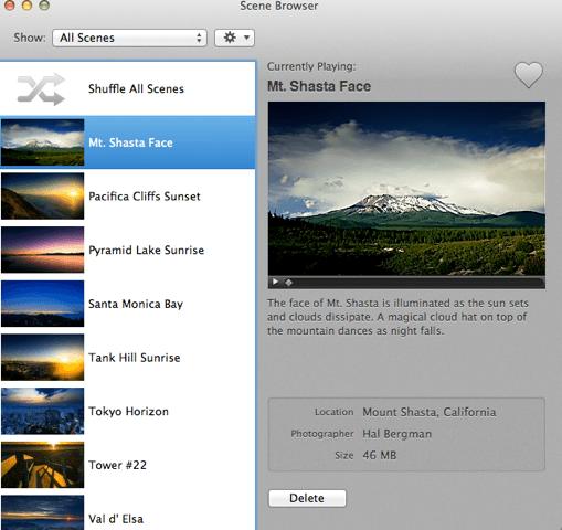 Scene Browser