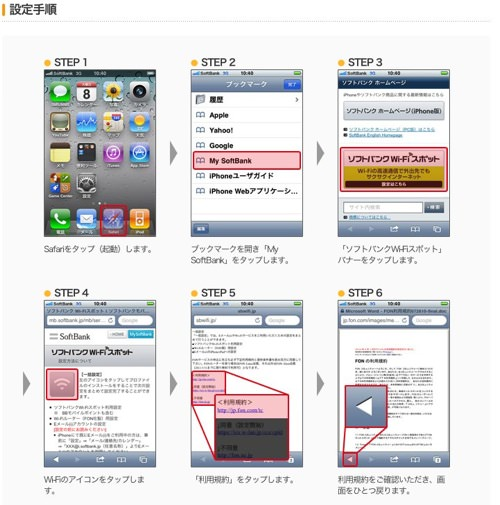 IPhoneへのプロファイルインストール方法  FONルーター設定サポート | ソフトバンクモバイル