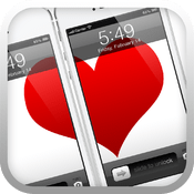 「love lock screen」ロック画面で愛を奏でるiPhoneアプリ