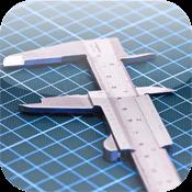 iPhoneを定規に長さを計測するアプリ「PreSize Ruler」