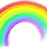 iPhoneは七色に輝く