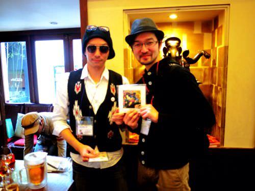 千円コーデフォトブック当選者に手渡す為に大阪まで行ってきたとお知らせ
