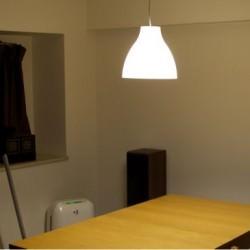 IKEAで980円で売られているペンダントランプ「MELODI」